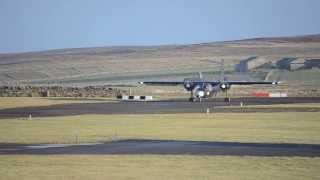 Shortest scheduled flight, Papa Westray to Westray