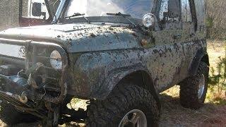getlinkyoutube.com-УазТех: Мерседес в кузове УАЗа или отчет о постройке моего авто. Выпуск №1