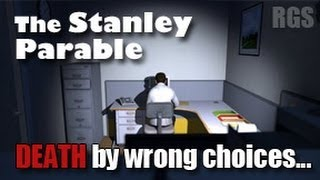 getlinkyoutube.com-The Stanley Parable Gameplay (2013 Remake) - Endings - Death by Wrong Choices [HD]