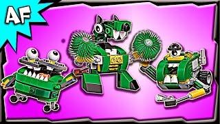 getlinkyoutube.com-Lego Mixels TRASHOZ Series 9 Gobbol, Sweepz, Compax Build Review 41572, 41573, 41574
