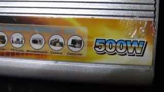 getlinkyoutube.com-Generatorul săracului..Ușor de făcut acasă.Portabil de la 12v la 220 volți 500 w