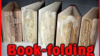 Tutorial - Book folding (Bücher falten)