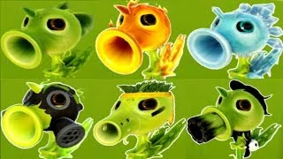 getlinkyoutube.com-Plants vs Zombies Garden Warfare All Pea Plants - All Characters