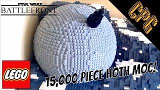 getlinkyoutube.com-BIGGEST Lego Walker Assault on Hoth MOC (with Ion Cannon)