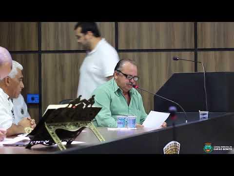 Sessão Ordinaria da Câmara Municipal