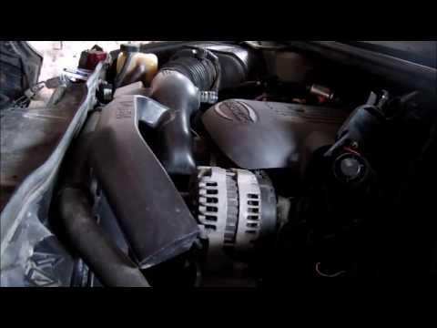 Hummer h2  Замена свечей и воздушного фильтра.