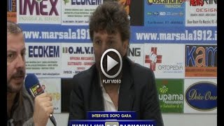 ITERVISTE DOPO GARA MARSALA 1912  - PARMONVAL 0 - 0