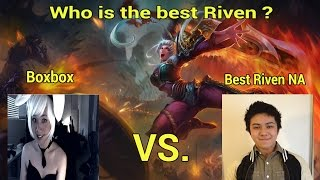 getlinkyoutube.com-Best Riven NA vs BoxBox | Who is the best Riven