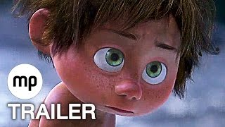 getlinkyoutube.com-ARLO & SPOT Trailer 2 + 3 German Deutsch (2015) Disney Pixar