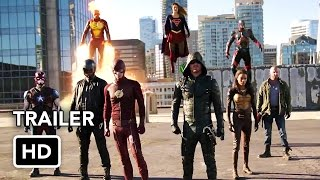 getlinkyoutube.com-The Flash, Arrow, Supergirl, DC's Legends of Tomorrow 4 Night Crossover Event Trailer (HD)