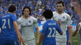 getlinkyoutube.com-FIFA 16 - Chelsea FC vs PSG Gameplay (PS4 HD) [1080p60FPS]