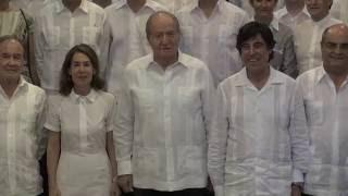 Audiencia de S.M. el Rey Don Juan Carlos a representantes de Sacyr en el Canal de Panamá Ampliado