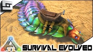 getlinkyoutube.com-ARK: Survival Evolved - ANTHROPLEURA CENTIPEDE TAMING! S3E102 ( Gameplay )
