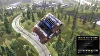 getlinkyoutube.com-ETS 2 | Autobots Flight at 869kmh