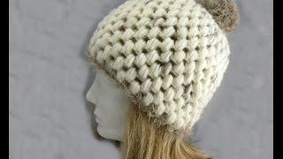 getlinkyoutube.com-Häkeln - Mütze aus Feeling und Fur von ONline-Garne