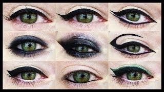 12 EYELINER TUTORIALS ★ For all Eye Shapes