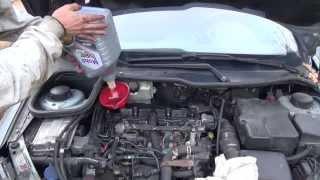 getlinkyoutube.com-Cambio del filtro de aceite & vaciado de aceite del motor paso a paso