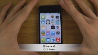 getlinkyoutube.com-iPhone 4 - iOS 7 Review