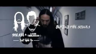 getlinkyoutube.com-Steve Aoki & Louis Tomlinson - Just Hold On [Behind The Scenes]