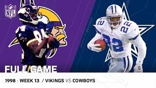 getlinkyoutube.com-Randy Moss & Vikings Torch the Cowboys   Thanksgiving 1998   NFL Full Game