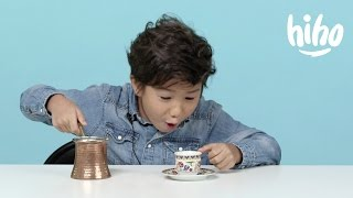 American Kids Try Coffee from Around the World | Ep 7
