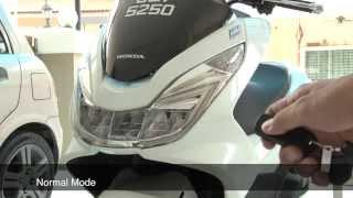 getlinkyoutube.com-Honda PCX 2015 Alarm setting guide