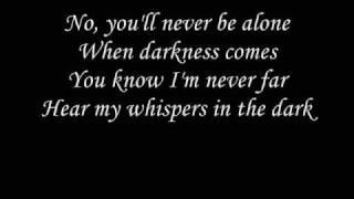 getlinkyoutube.com-Skillet - whispers in the dark with lyrics