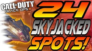 getlinkyoutube.com-ALL 24 SKYJACKED Spots & Glitches! - Ledges, Lines of Sight, Hiding Spots, (New Black Ops 3/BO3)