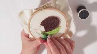 getlinkyoutube.com-Curso online Mi primer bordado mágico - Tutorial de aguja mágica - Aprende a bordar