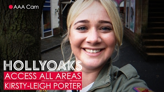 #HollyoaksAAA with Kirsty-Leigh Porter