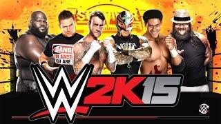 Our Longest Match Eva!!!  6-Man Ladder Match [Survivor Series] WWE 2k15