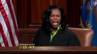 "getlinkyoutube.com-""Paternity Court"" Judge Goes Off!"
