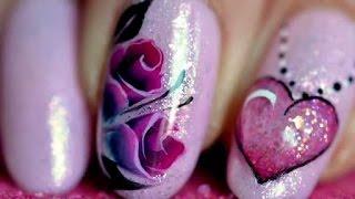 3 Nail art VALENTINE'S DAY