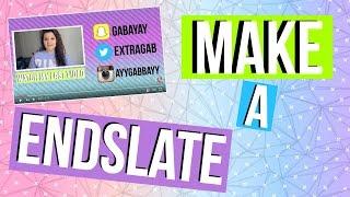 getlinkyoutube.com-How to Make and Annotate a Endslate