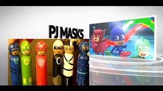 getlinkyoutube.com-PJ Masks Toys Owlette Gekko Catboy Luna Girl Romeo Night Ninja