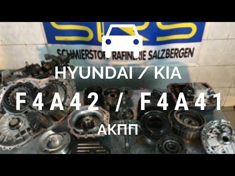 4-ступ. АКПП Mitsubishi F4A42, F4A41, F5A51