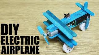 getlinkyoutube.com-How to make an electric airplane - DIY Airplane