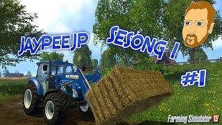 getlinkyoutube.com-Farming Simulator 15 - S1E1 - Da er vi igang