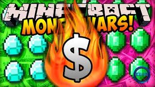 "getlinkyoutube.com-Minecraft MONEY WARS! - ""CRAZY FIGHTS!"" w/ Ali-A & Vikk"