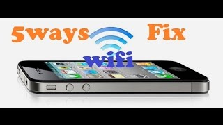 How To Fix Wifi iPhone 4/5/6, 5Ways To Fix Wifi iPhone Greyed Out