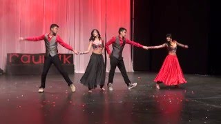 getlinkyoutube.com-Bollywood dance- Dilliwali girlfriend, Hangover, Deewani Mastani & Gerua