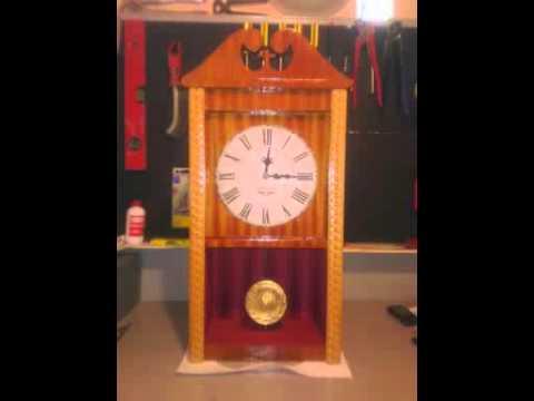 Come costruire un orologio a pendolo in legno fai da te for Orologio fai da te