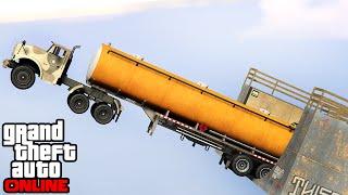 getlinkyoutube.com-GTA 5: Online - Stunts, Fails & Funny Moments