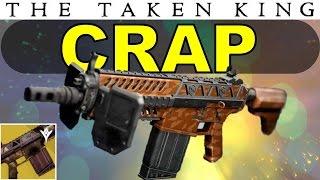 Destiny: The Fabian Strategy is CRAP! | Titan-Exclusive Exotic Auto Rifle | Taken King