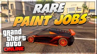 "getlinkyoutube.com-GTA 5 Paint Jobs: Best Rare Paint Jobs Online! (Tron, Nebula, Dragon) ""GTA 5 Secret Paint Jobs"""