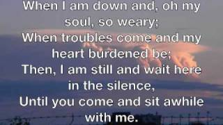 you raise me up - josh groban with lyrics