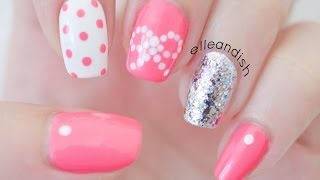 getlinkyoutube.com-❤ Easy Bow Nails...Using Dots!  ❤