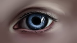 getlinkyoutube.com-Рисуем глаз в Саи / Draw the eye in Paint tool sai