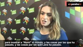 """getlinkyoutube.com-Jamie Clayton on her rol as """"Nomi"""" in Sense8"""