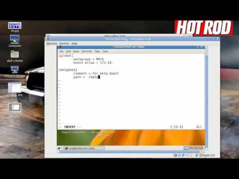 Virtual Samba Server
